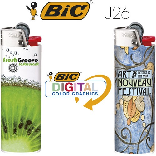 Bic J26 aansteker wrapped